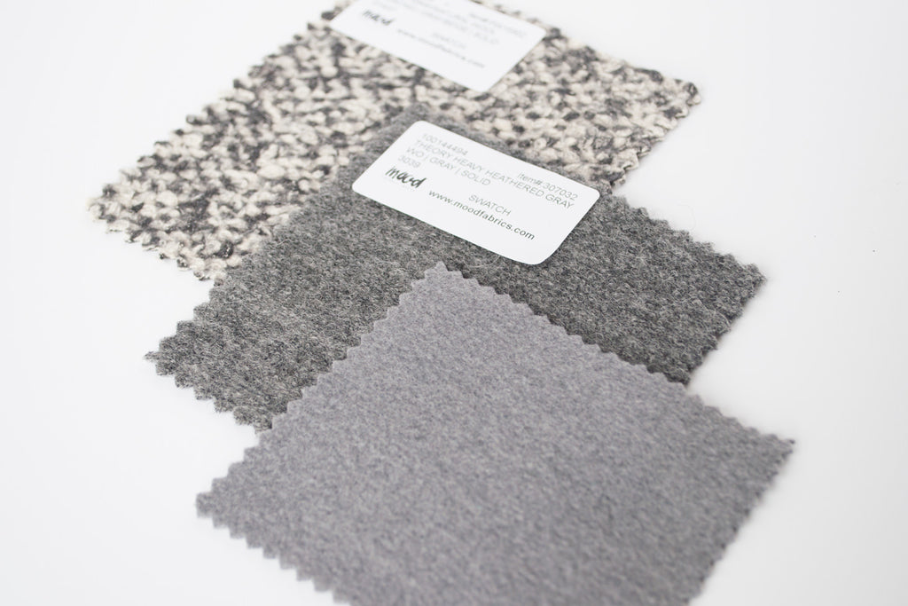 Wool Coating Fabric Swatches