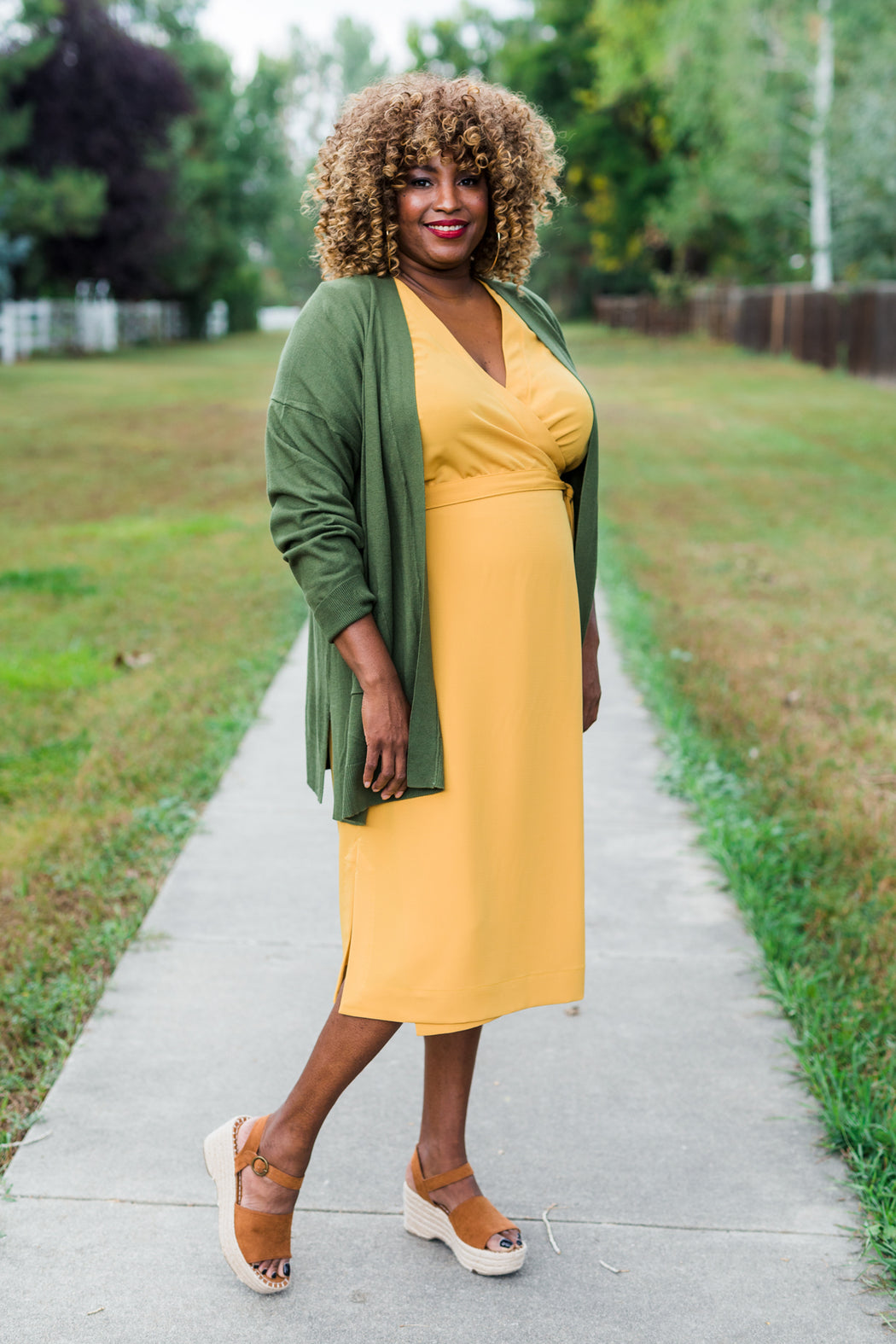 Highlands Wrap Dress