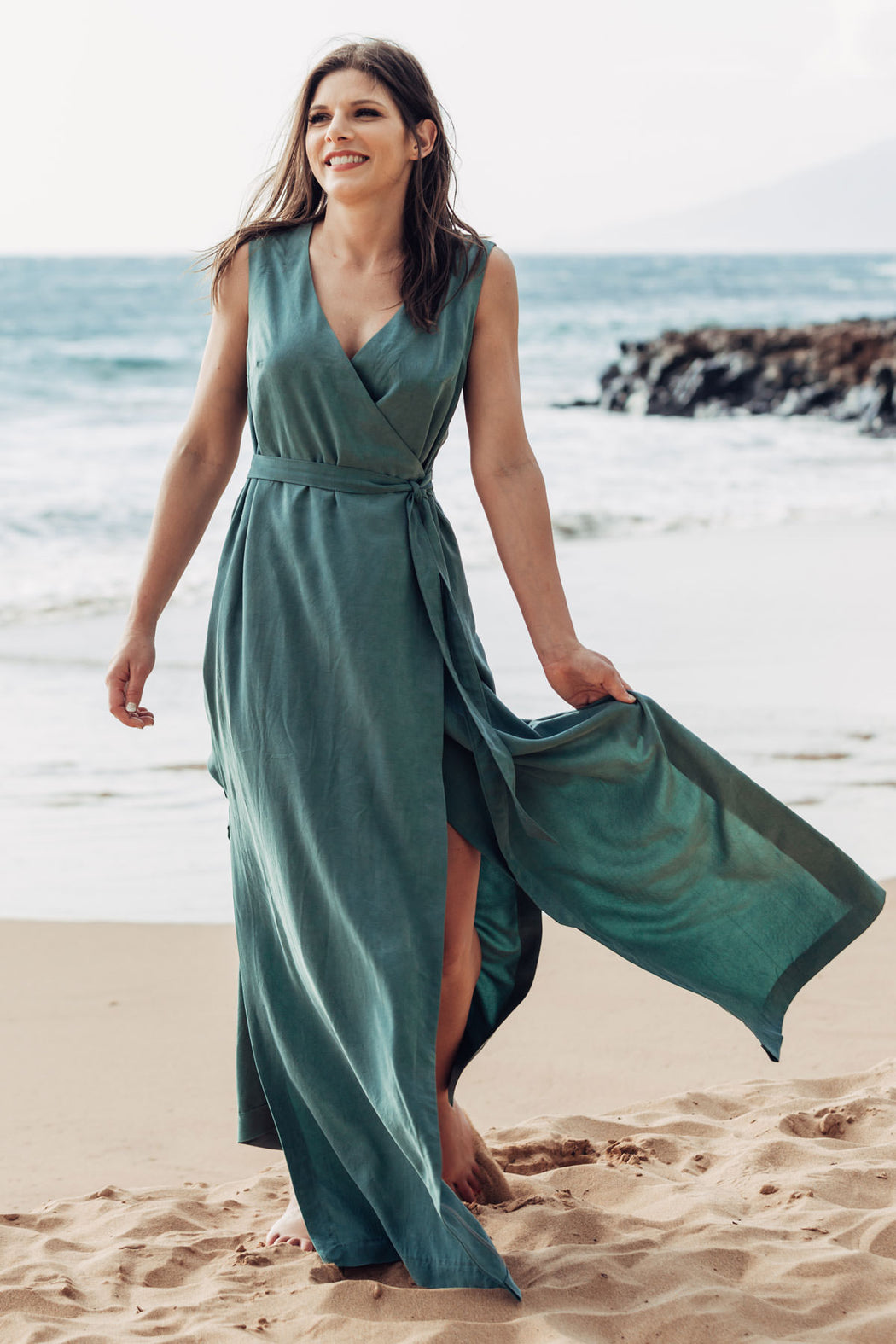 Highlands Wrap Dress Sewing Pattern by Allie Olson