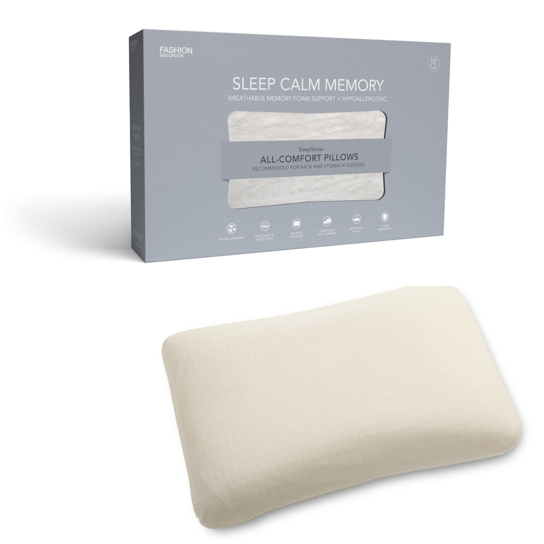 Sleep Calm Pillow: Travel Size