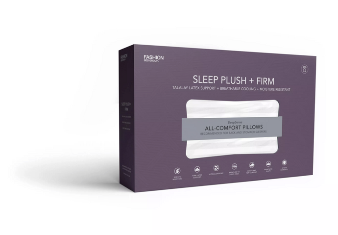 Sleep Plush+ Gel Medium Pillow