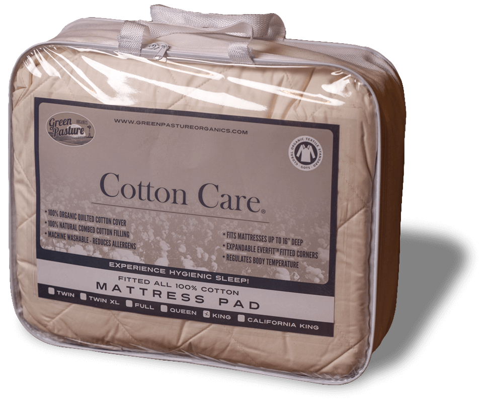 Cotton Care Organic Mattress Pad The Adjustable Bed Store