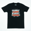 TShirt - Black Stacked Ace Family
