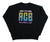 Crewneck  - Black Retro