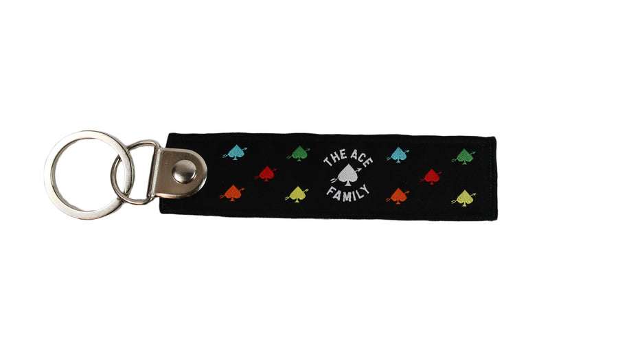 Keychain - Rainbow Ace Signature