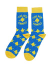 Socks - Blue/Yellow Ace Signature
