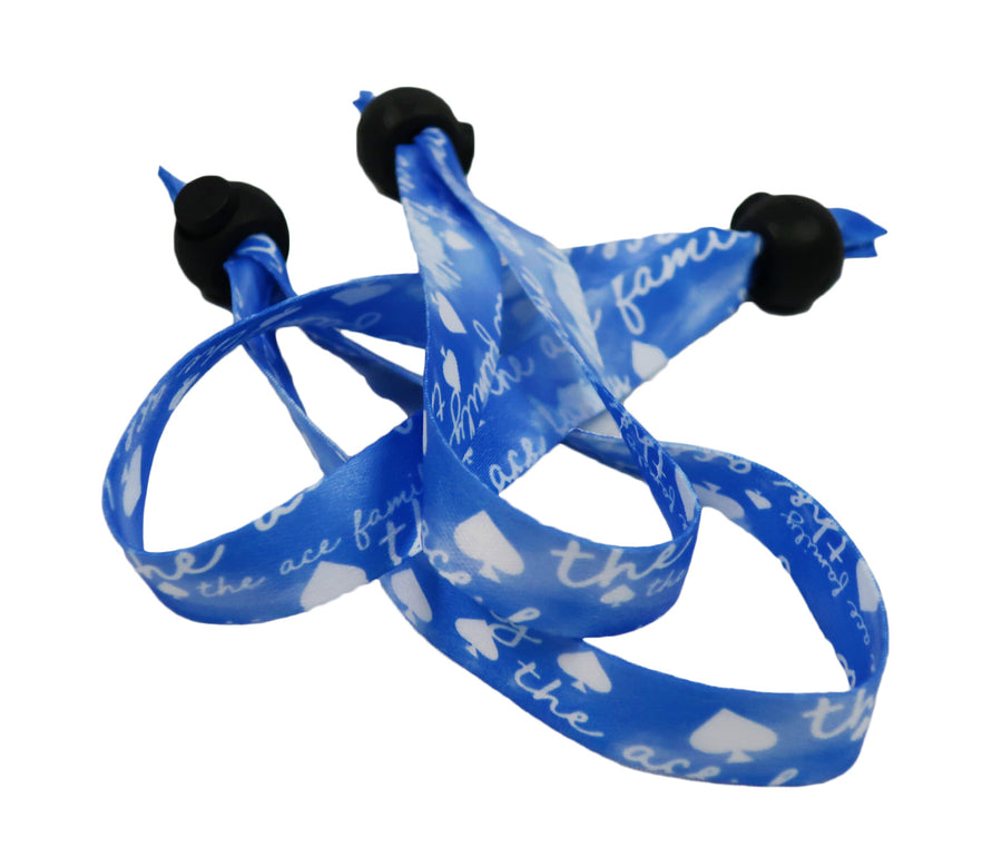 Wristband - Cloth Blue Cloud