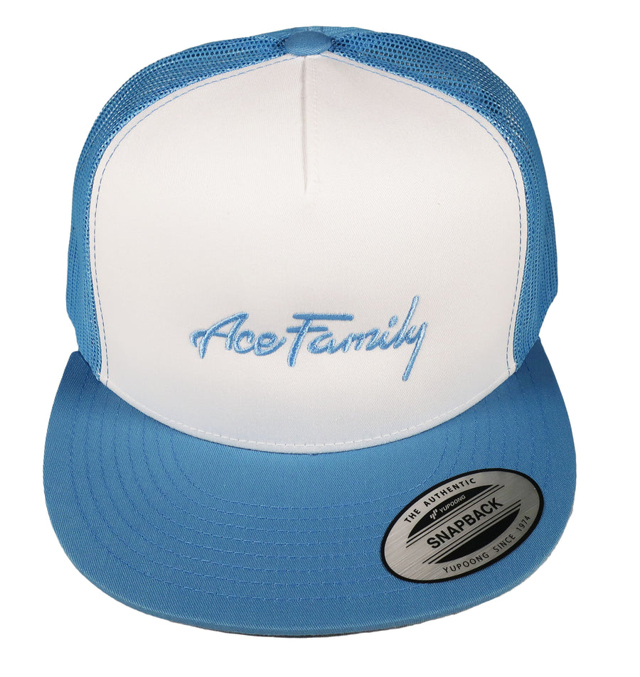 Dad Hat - Blue Cursive Ace Family