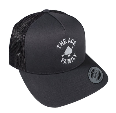 Dad Hat - Charcoal Ace Signature