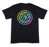 Youth TShirt - Black Rainbow Aztec