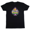 Youth TShirt - Black Ace Family Pink Spade