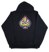 Youth Hoodie - Black Ace Family Pink Spade