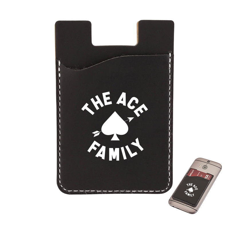 Phone Wallet - Black ACE Signature