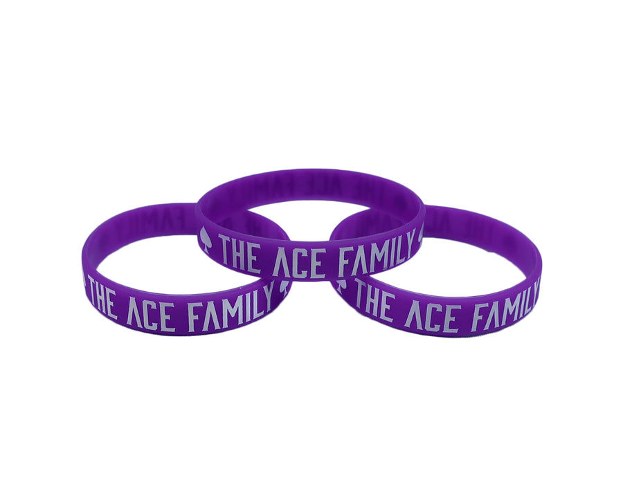 Wristband - Silicone Purple