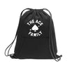 Drawstring Bag - Black ACE Signature