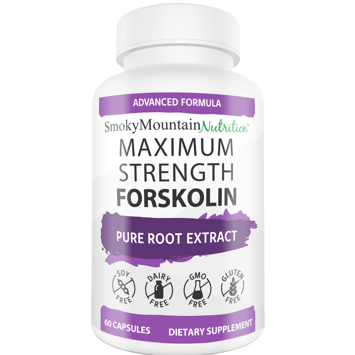 Maximum Strength Forskolin* Smoky Mountain Nutrition