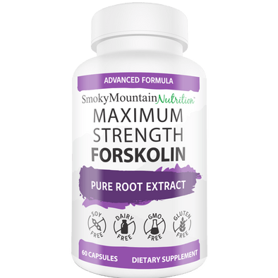Maximum Strength Forskolin - Smoky Mountain Naturals