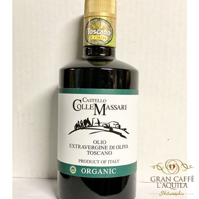 Castello Colle Massari PGI Organic Extra Virgin Olive Oil (500ml) (Maremma Toscana)