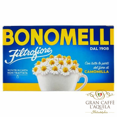 Bonomelli Chamomile Herbal Tea 14 filters