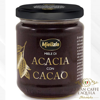 Miele di Acacia con Cacao (Acacia Honey with Cocoa) 8.8 OZ