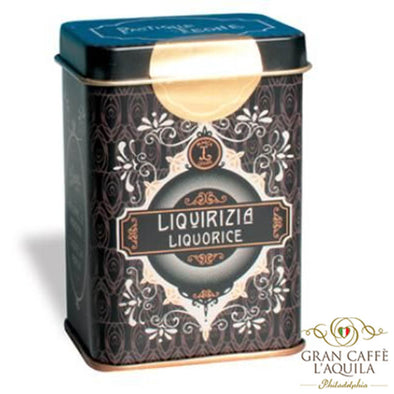 Liquorice (Liquirizia) - Pastiglie Leone 1.4oz Collectors Tin