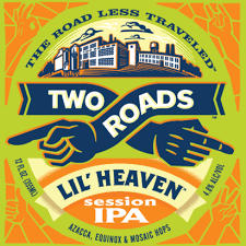 LIL' HEAVEN IPA, Two Roads (CT) 4.8%