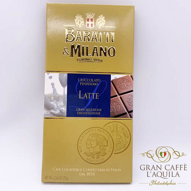 Baratti e Milano- Extra Fine Milk Chocolate Bar