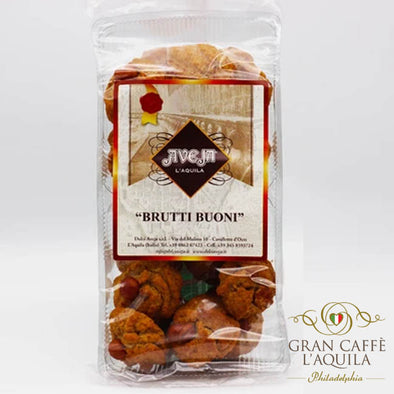Brutti Buoni:  Soft baked Hazelnut cookie PREORDER NOW, AVAILABLE MARCH 15th