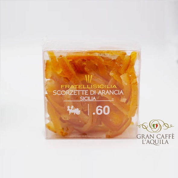 Candied Sicilian Orange  Peels 5.8 oz