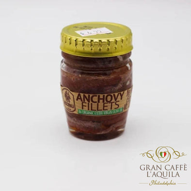 ItalIan Anchovy Filets in Olive Oil 2.04 oz