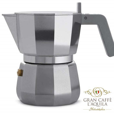 Pulcina - Moka made by Alessi - 3 Cups