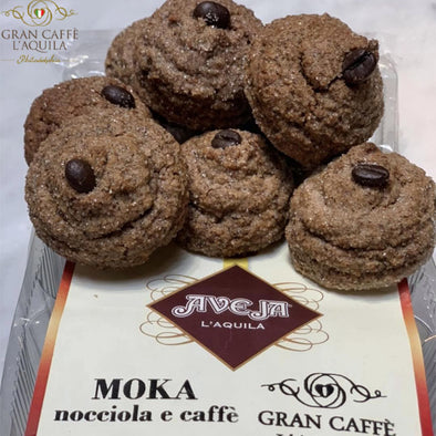 Moka al caffe: Made with Gran Caffe L'Aquila Coffee, white chocolate & hazelnuts - PREORDER NOW AVAILABLE MARCH 15th