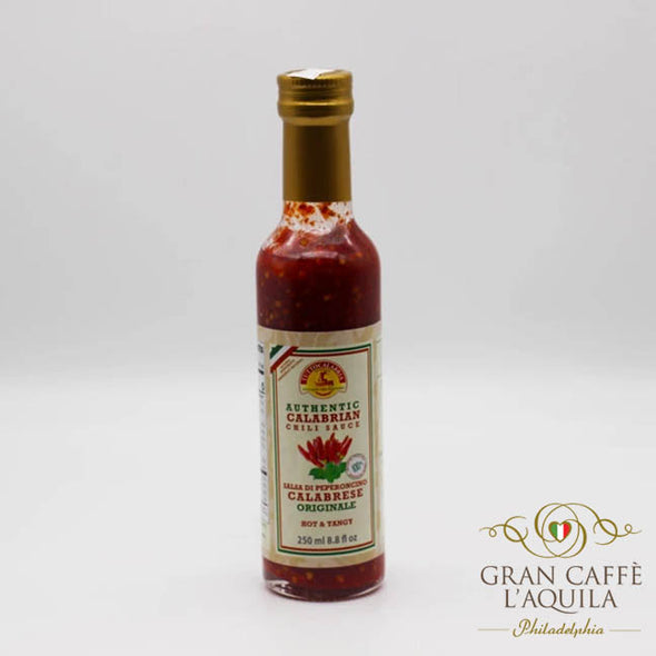 Spicy Calabrian Chili Pepper Sauce
