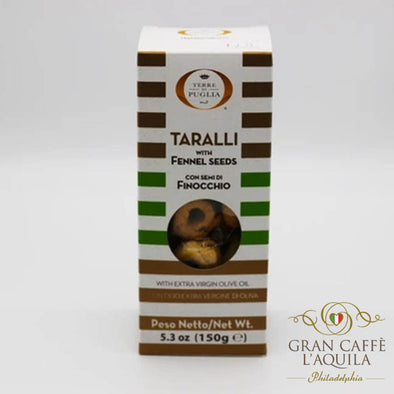Taralli with Fennel seeds 8.1 OZ