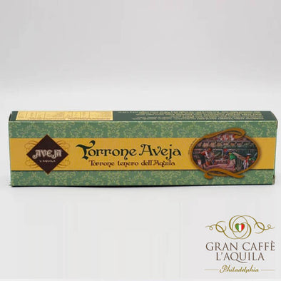 Torrone Aveja: Nougat bar with chocolate, honey & hazelnuts