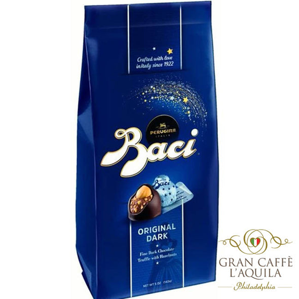 Perugina Baci Gift Bag Dark Chocolate 10 pieces (4.4 oz)