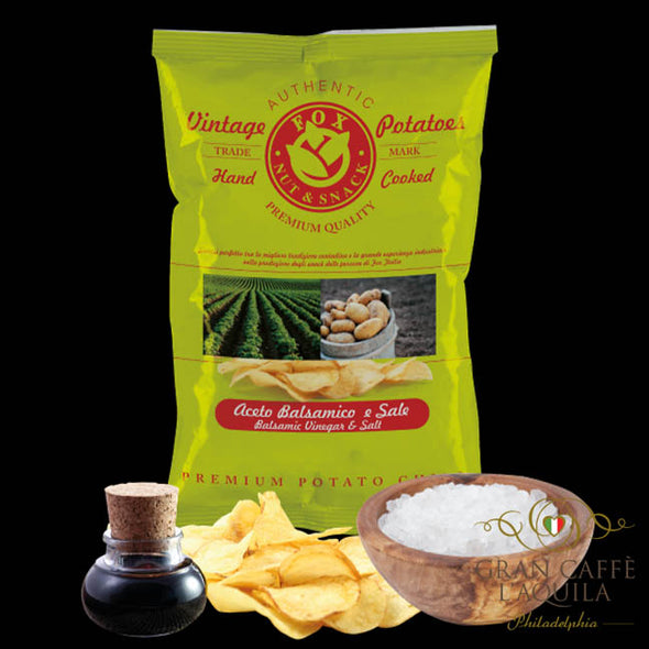 Balsamic Vinegar & Salt Authentic Vintage Potato Chips