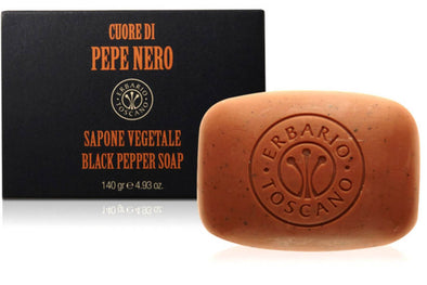 Black Pepper Tuscan Luxury Soap - Erbaio Toscano