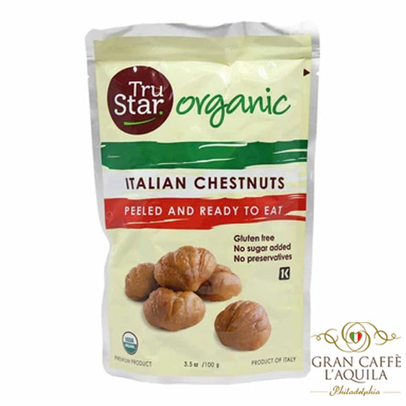 Italian Chestnuts Peeled and Ready to Eat (3.5oz)