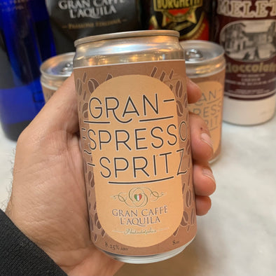 NOW AVAILABLE Gran Espresso Spritz! (2 SERVINGS) 8 oz.