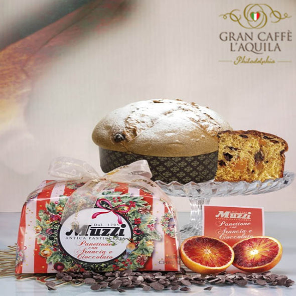 Panettone with Arancia & Cioccolato - Muzzi SOLD OUT