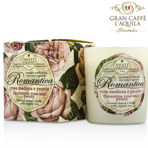 Florentine Rose and Peony Luxury Scented Candle