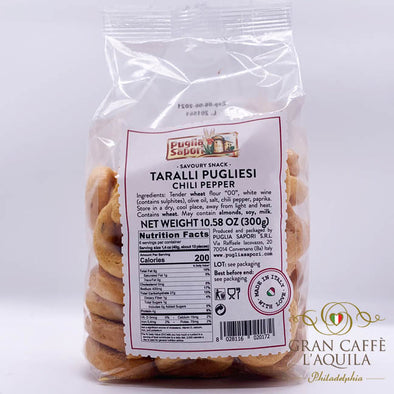 Taralli Pugliese Chili Pepper 10.58oz