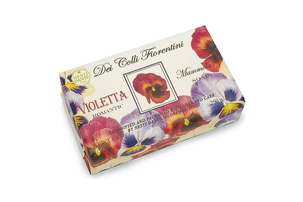 Tuscan Violet flower Luxury Soap - Nesti Dante