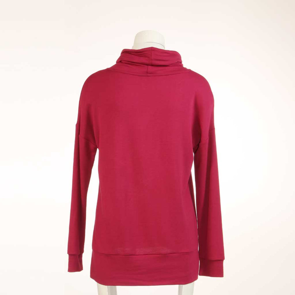 Cowl Neck Pullover Top