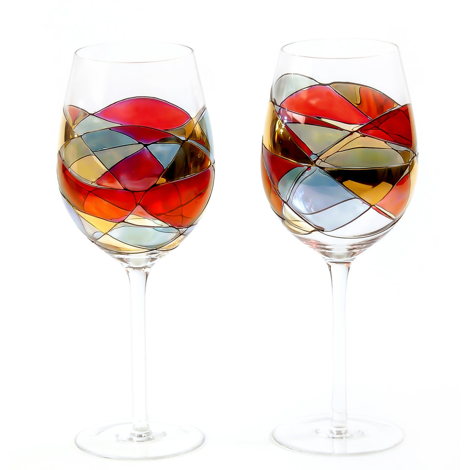 'SAGRADA' Red Line, 29oz Large Wine Glasses