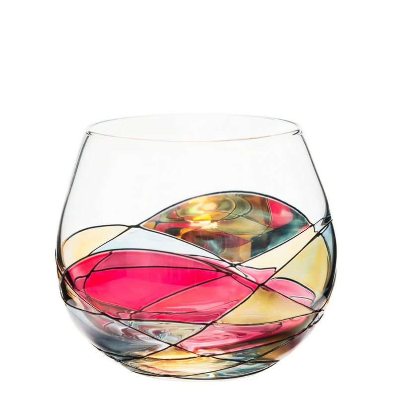 'SAGRADA' Stemless 21.5oz Wine Glasses