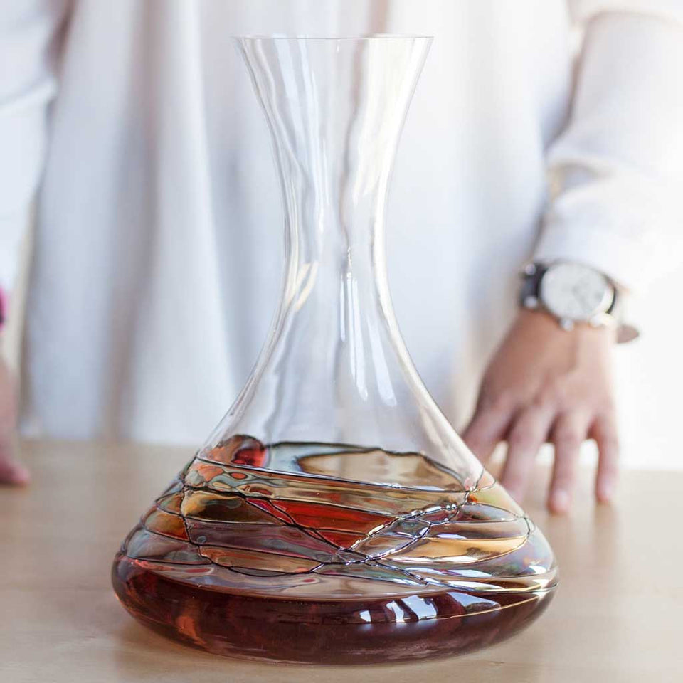 'SAGRADA' Red Line, 61oz Wine Decanter