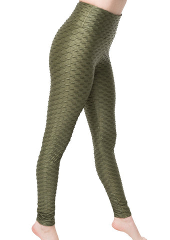 Leggings Textured Star Chrome M35 Olive Green