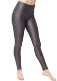 Leggings Textured Star Chrome M35 Charcoal